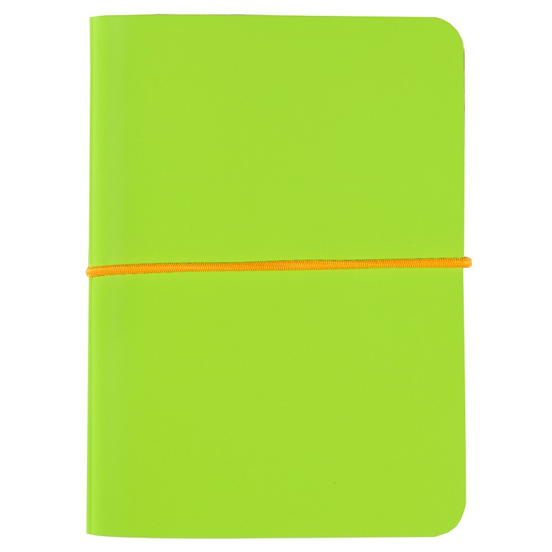 Kiasma Lime Notebook A7