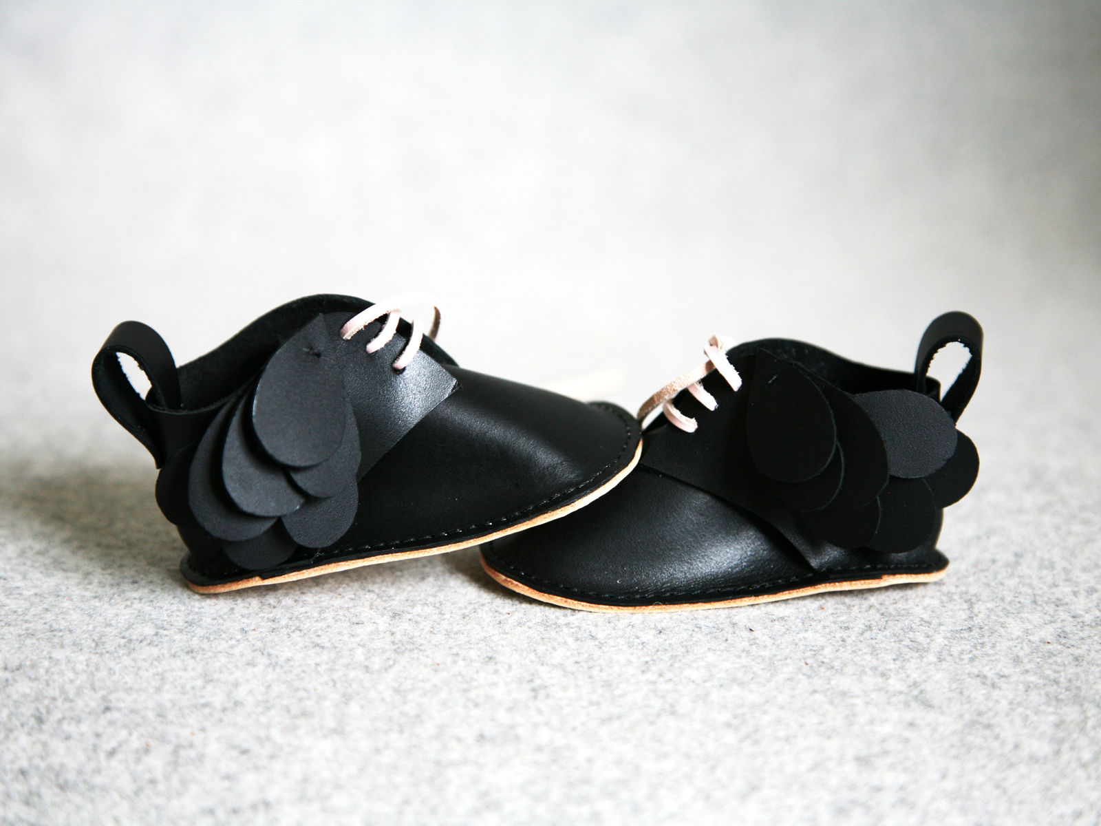 Bir baby shoes Black
