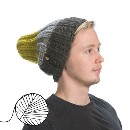 In the Woods - Koivu, naturally dyed beanie