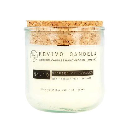 No. 19 Stories of Nopales scented soy wax candle