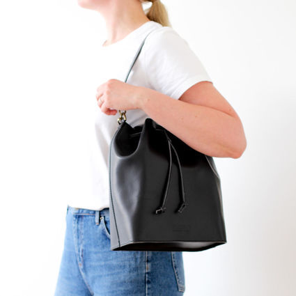 MARILIN bucket bag black