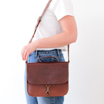 MONO satchel in Brown