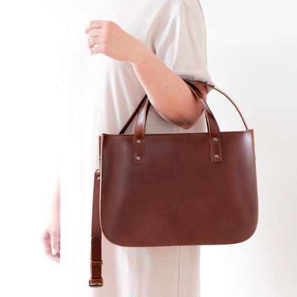 OTTO tote bag brown