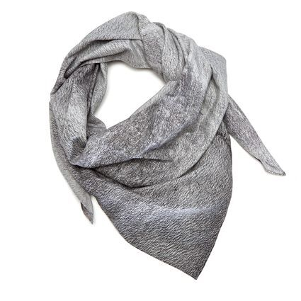 HRAUN SCARF IN ORGANIC COTTON & PEACE SILK