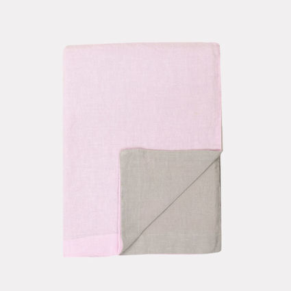 Baby pink-sand pillow case