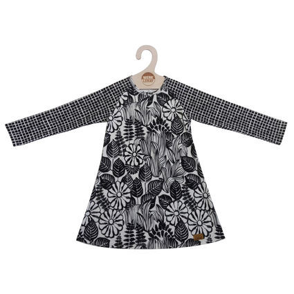Dress organic interlock jersey