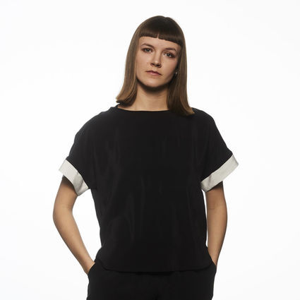 Alba Recycled Silk Blouse