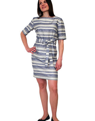 LILLE Clothing Elvi Dress with stripes