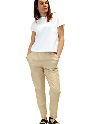 LILLE Clothing Pilvi Trousers beige