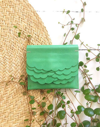 Kuula + Jylhä While wallet green