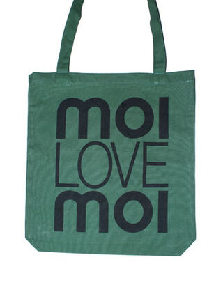 Eco shopping bag green