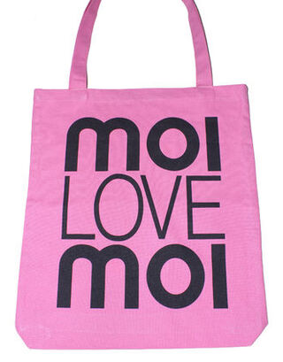 Eco shopping bag pink